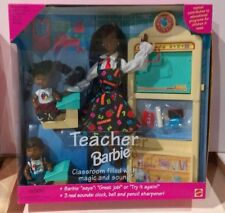 Teacher AA Barbie Doll Set #13915 Never Removed from Box 1995 Mattel
