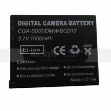 Battery for Panasonic CGA-S007E CGA-S007A/B S007E Lumix DMC-TZ3 Lumix DMC-TZ1-K