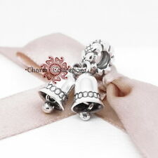 Pandora Bells, Christmas, Pendant Bracelet Charm, S925, NEW, 791230