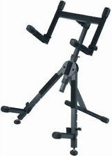 Quik-Lok BS-625 Heavy Duty, fully adjustable A-frame Amp Stand