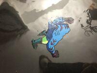 Street Sharks Original Production Animation Cel Bobby STREEX Bolton Overhead