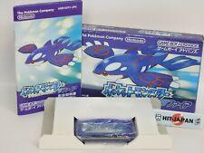 POKEMON SAPPHIRE Pocket Monsters Ref 1671 Game Boy Advance Nintendo gba