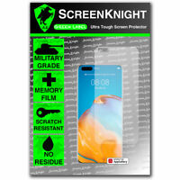 ScreenKnight Huawei P40 Pro / P40 Pro + FRONT SCREEN PROTECTOR - Military Shield