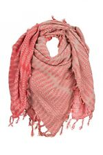 Fransa Scarf Ryline Shawl Fringes Red / Rosa One Size/One Size