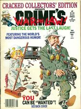 "1986 Cracked Magazine #66: Gangsters/Collector Edition/War on Law/""Wanted"""