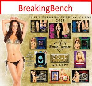 KIMBERLY PHILLIPS 2021 Benchwarmer GOLD 8-BOX CASE BREAK #1329