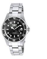 Invicta 8932OB Men's Pro Diver Black Dial SS Bracelet Dive Watch