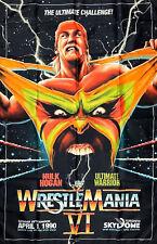 New listing Hulk Hogan Wrestling Wrestle Mania Vi Flag 3x5 ft Banner Man-Cave Garage New
