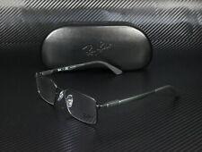 RayBan RX6275 2503 MATTE BLACK DEMO LENS 54 mm Men's Eyeglasses
