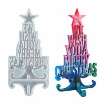 Christmas Decor Wish Silicone Jewelry Casting Mold Resin Epoxy Mould Craft Tool