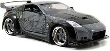 Jada 97172 Fast & Furious DK Nissan 350z 1 24 Diecast Model Car Grey Black
