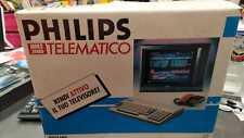 PHILIPS NMS 3000 TELEMATICO COMPUTER PER VIDEOTEL / INTERNET RARO RETRO