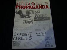 ALLIED PROPAGANDA #5 Jan 1981 DIY/Punk Fanzine Jam Au Pairs Cravats Interviews