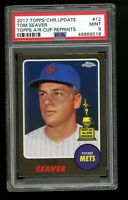 2017 Topps Chrome Update All Rookie Cup Tom Seaver Mets HOF PSA 9 MINT