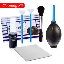 Lens Cleaning Kit Air Blower, Brush, Cloths, Tissue Paper, Bottle, Sensor Swabs