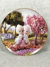 """1993 Precious Moments """"Love One Another"""" Collection Plate"""