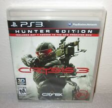 CRYSIS 3 Hunter Edition SEALED NEW PlayStation 3 PS3 CRYTEK Nanosuit Shooter