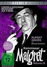 Kommissar Maigret, Vol. 5 / Die letzten 9 Folgen der lege...   DVD   Zustand gut