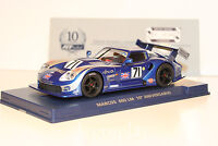 Slot car SCX Scalextric Fly 96082 Marcos 600 LM 10º Aniversario A-2001