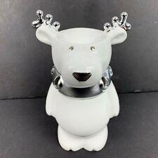 Slatkin White Oil Fragrance Burner Reindeer Holiday Christmas Bath & Body Works