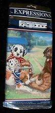 """Expressions Wallpaper Border New Prepasted Vinyl 5ydsx9"""" Puppies Sports Sporting"""