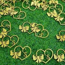 Custom lasercut Tags Gold  Personalized Cake Decorations Any Letters