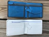 Lot of 2 Wallets Mens Wallet Bifold Card Holder Purse Hand Made Supreme Leather