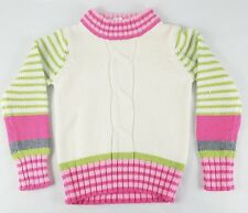 Gymboree Girls Rope Knitted Sweater Size M 7/8
