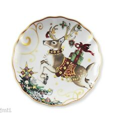 William Sonoma Twas the Night Before Christmas Reindeer Salad Plate