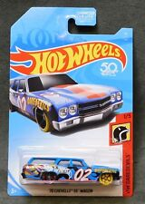2018 Hot Wheels Car '70 Chevelle SS Wagon - E or F or G or H Case
