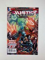 Justice League Vol 2 #27 DC 2014 Death of Karma & Scorch