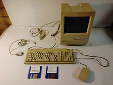 1993 Apple Macintosh Classic II w/ Keyboard, Mouse, Floppy Disc, Used Not Tested