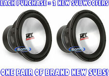 "4000W PAIR (2) MTX Audio T9515-44 15"" Dual 4 ohm Car Superwoofers Thunder9500"