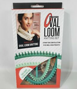 Ultimate Oval Loom Knitting Set Leisure Arts for Small Gauge Projects