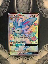 Sylveon GX Shiny Pokemon TCG SV76/SV94