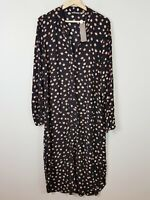[ SUSSAN ] Womens Spot Print Dress NEW + TAGS RRP$119.95 | Size AU 14 or US 10