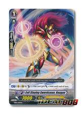 Cardfight Vanguard  x 4 Evil Slaying Swordman, Haugan - TD05/009EN - TD (common