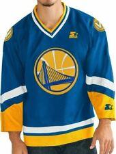 NBA Golden State Warriors Starter Men's Legend Crossover Hockey Jersey sz 6XL