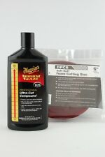 Meguiars M105 Ultra Cut Compound and DFC6 Cutting Pad Brand New, FREE UK P&P