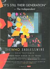 The WHO Endless Wire 2006  UK magazine ADVERT / Poster 11x8 inches