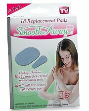 Smooth Away Hair Removal, 18 replacment pads, As Seen on TV, New