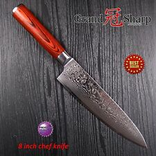 8 Inch Professiona Chef Knife Damascus Japanese Stainless Steel  Kitchen Knives