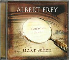 CD - Albert Frey - tiefer sehen (12 Songs) GerthMedien