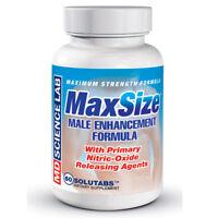 Max Size Male Enhancement Longer Firmer Fuller Enhancer 60 Capsules