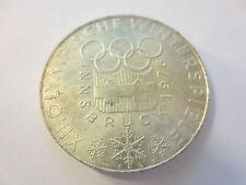 100 Schilling SM - 1974 - Olympische Winterspiele Innsbruck 1976 - Silber .640