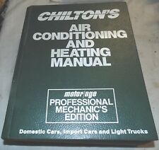 Chilton's, Air Conditioning and Heating Manual, 1989-91, Domestic, Import, Truck