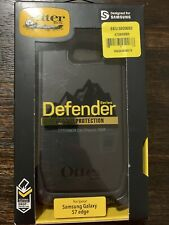 OtterBox Defender Series Protective Case for Samsung Galaxy S7 edge/Black NEW!