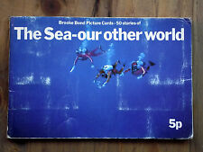 The Sea - Our Other World - Brooke Bond Tea Cards in Album 1974