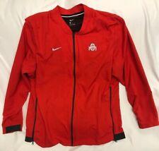 Nike Ohio State Buckeyes Long Sleeve Warmup Jacket XL Possibly Team Issue