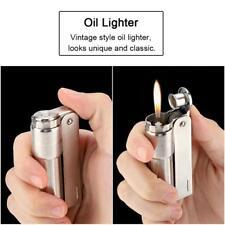 Mini No Fuel Vintage Old Classic Design Gasoline Cigarette Oil Petrol Lighter M